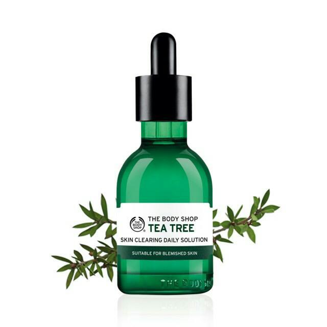 The Body Shop茶樹淨膚淨化調理菁萃(50ML)