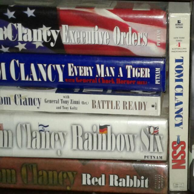 Tom Clancy Book Collections