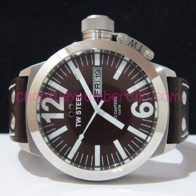 TW Steel CEO Canteen 45 MM Oversized Watch CE1009