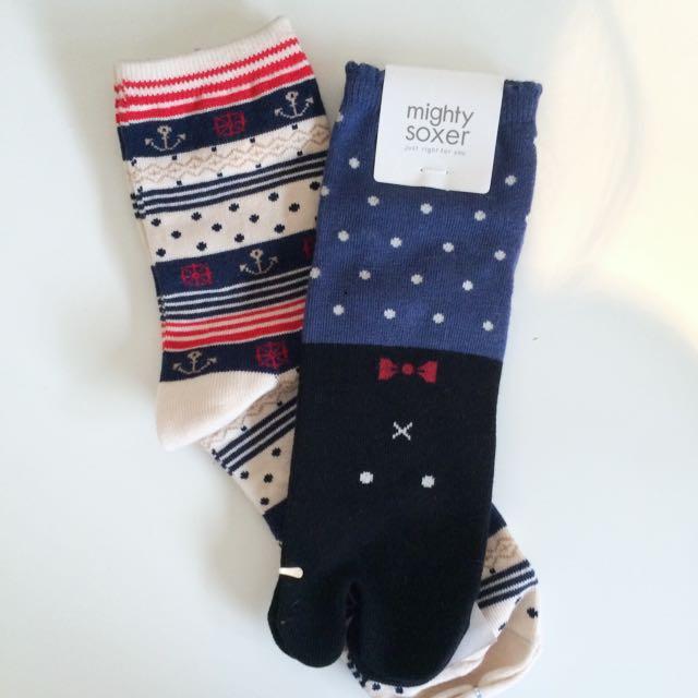 🆕Japanese Socks Two Pack