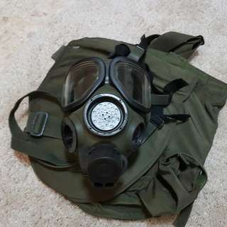 US Army M40 Gas Mask Pouch Tactical Cosplay Milsim Polsim Haze