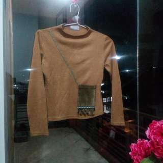 PRELOVED Choco Sweater