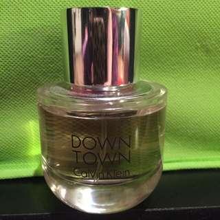 """Down Town"" Calvin Klein Perfume"