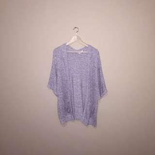 Knit Kimono Style Cardigan (garage)