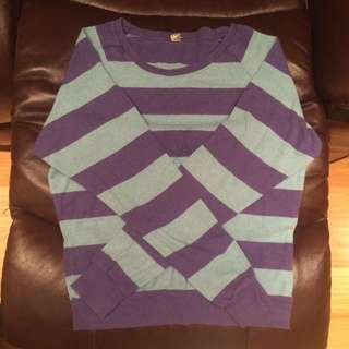TNA Striped Long Sleeve Shirt