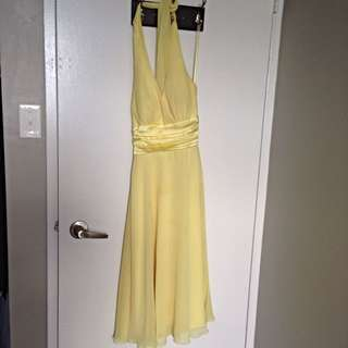 Beautiful Le Chateau Halter Dress