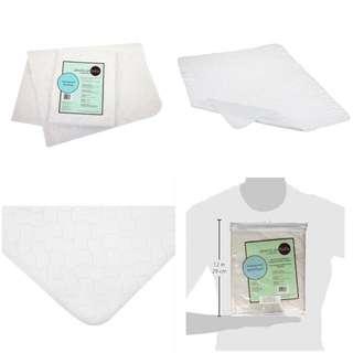 American Baby Company 2858 Waterproof Sheeting Multi Use Pad, Large (White)