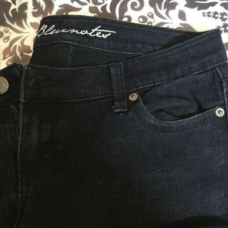 Black Bluenotes Jeans Size 27/34