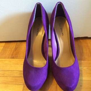 Purple Heels (pumps from Spring)