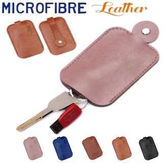 Key Holder Genuine Microfibre Leather