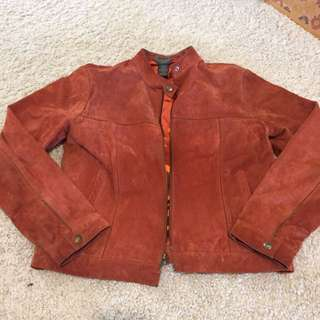 100% Suede Jacket (small)
