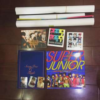 Super Junior CD、海報、小卡