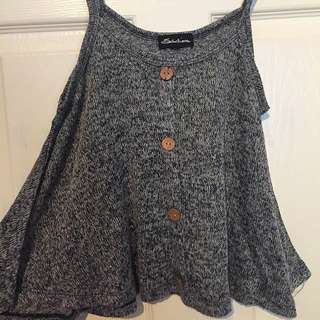 Flowy knit top
