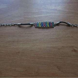 Name bracelet Jacqueline