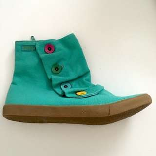 BLOWFISH - TEAL BOOTIES