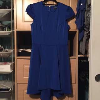 Top Shop Blue Dress