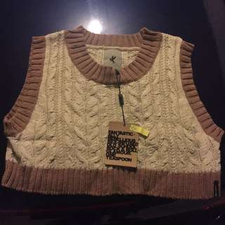 One Teaspoon Vintage Knitted Vest
