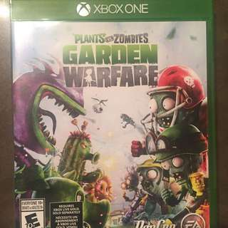 Plant And Zombie Xbox One Game