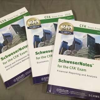 CFA LEVEL 1 Schwesser Notes