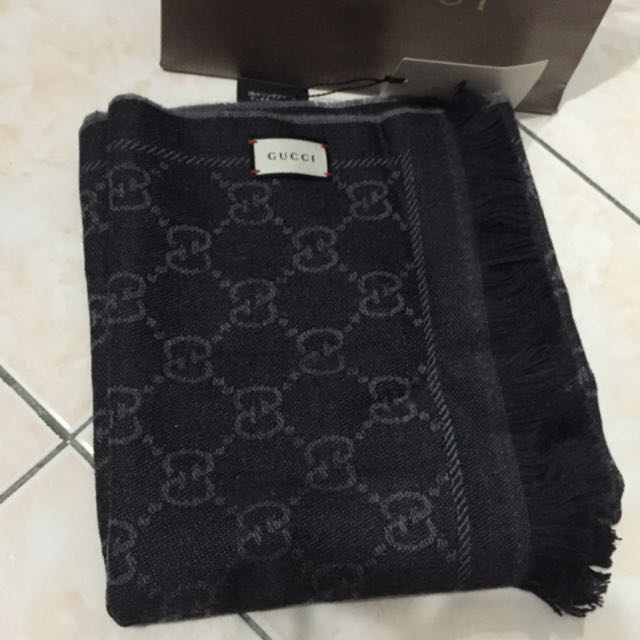 100% Authentic Gucci Scarf