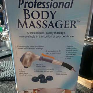 Obusforme Body Massager! TMMGR01- BRAND NEW