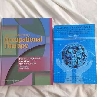 Occupational Therapy Textbooks