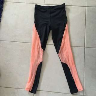 Mink pink Move Breathable Excerise Tights Size M