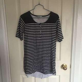 Stussy Striped T-shirt Dress