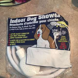 Indoor Dog Shower Hose