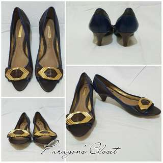 Dumond Peep Toe Shoes