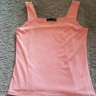 Women Pink Sleeveless Top