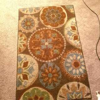 Rug With Cute Design