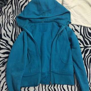 lululemon cozy blue sweater