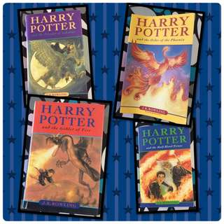 Harry Potter 4 Book Collection