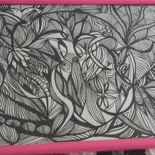 Zen Tangle Original Art Work Special !!!