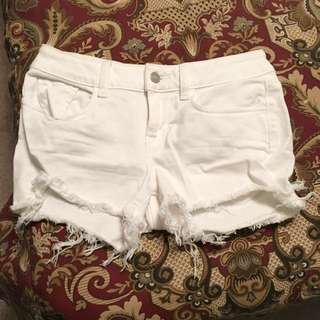 PINK White Shorts