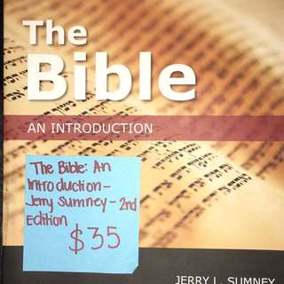 The Bible: An Introduction
