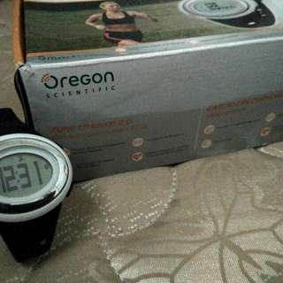 Oregon Scientific Fitness Watch Heart Rate Monitor