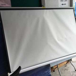Hanging LCD Projector Screen 183 Cm (L) / 6 Feet @ $50 Each @ D4/C