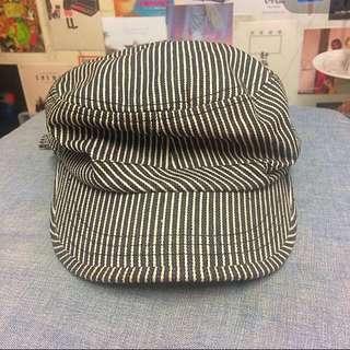 條紋報童帽😍 復古 八五成新