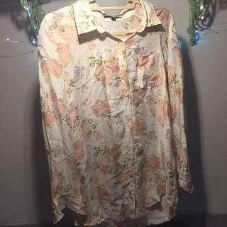 Soft Floral Button Up By Margot - Urban Outfitters