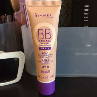 rimmel BB cream matte 9 in 1 (medium tone)