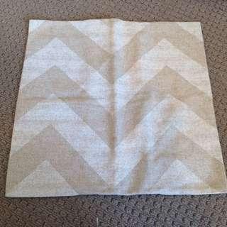 Chevron Print Cushion Cover