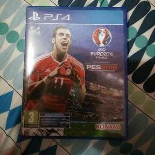 PES Euro 2016 Ps4