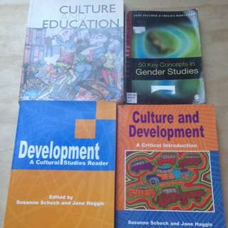 Culture, Education, Development, Gender Studies