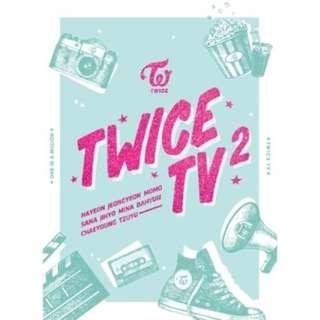 [現貨]Twice/TV2 DVD(韓國進口版)[76頁寫真冊 + 明信片3DVD]