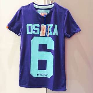 Brand New Mens Superdry Osaka 6 T-shirt