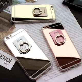 鏡面透明手機殼