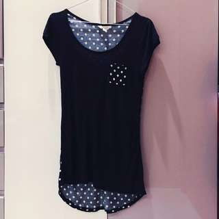 Jayjays Polka Dot Pocket Tee