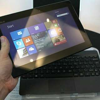 T100 Transformer Book 2 In 1 Tablet + Note Book